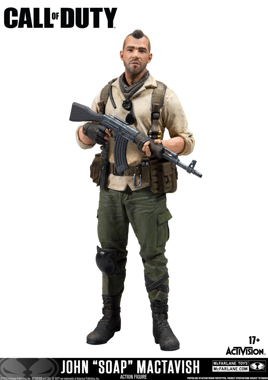 Call of Duty John Soap McTavish Action Figure - Action Figure Warehouse Australia | Comic Collectables