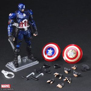 Marvel Square Enix Bring Arts Captain America Action Figure