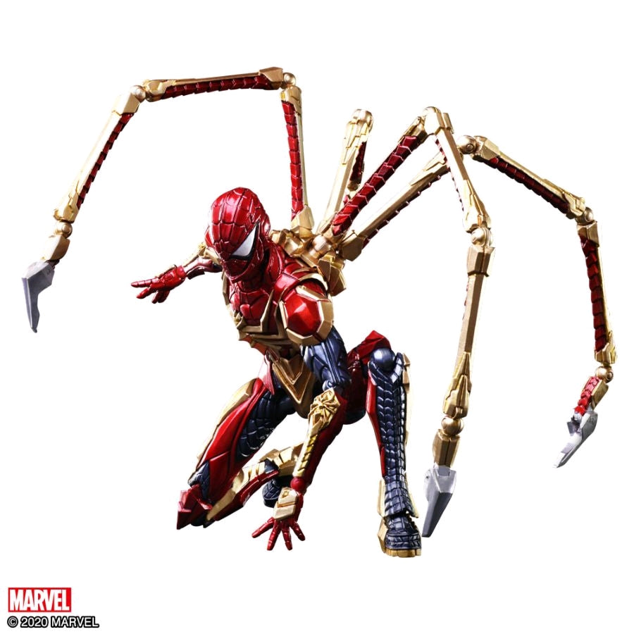 Marvel Square Enix Bring Arts Iron Spider-Man Action Figure Pre-Order