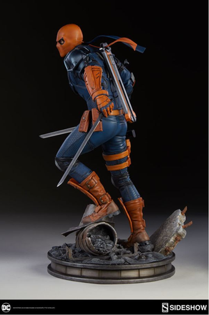 DC Sideshow Collectibles Batman Deathstroke Premium Format 1:4 Scale Statue - Action Figure Warehouse Australia | Comic Collectables