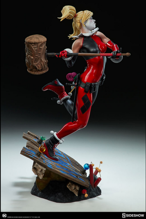 DC Sideshow Collectibles Batman Harley Quinn Premium Format 1:4 Scale Statue Pre-Order - Action Figure Warehouse Australia | Comic Collectables