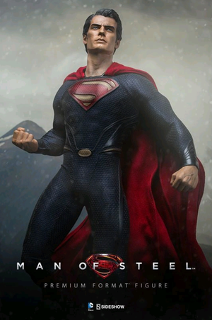 DC Sideshow Collectibles Superman Man Of Steel Premium Format 1:4 Scale Statue - Action Figure Warehouse Australia | Comic Collectables
