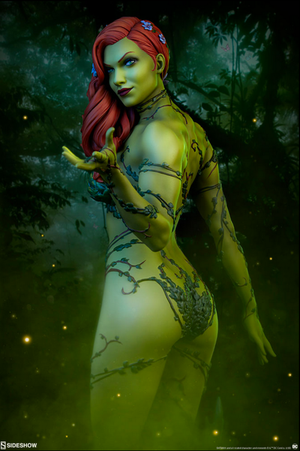 DC Sideshow Collectibles Batman Poison Ivy Premium Format 1:4 Scale Statue Pre-Order - Action Figure Warehouse Australia | Comic Collectables