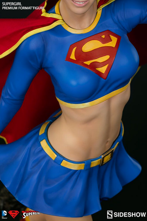 DC Sideshow Collectibles Supergirl Premium Format 1:4 Scale Statue - Action Figure Warehouse Australia | Comic Collectables