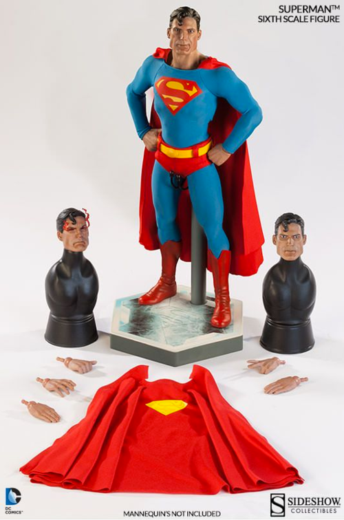 DC Sideshow Collectibles Superman 1:6 Scale Action Figure - Action Figure Warehouse Australia | Comic Collectables