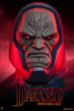DC Sideshow Collectibles Superman Darkseid Premium Format 1:4 Scale Statue - Action Figure Warehouse Australia | Comic Collectables