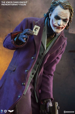 DC Sideshow Collectibles Batman The Dark Knight The Joker Premium Format 1:4 Scale Statue - Action Figure Warehouse Australia | Comic Collectables