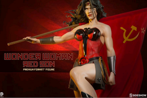 DC Sideshow Collectibles Wonder Woman Red Son Premium Format 1:4 Scale Statue - Action Figure Warehouse Australia | Comic Collectables
