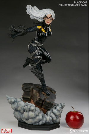 Marvel Sideshow Collectibles Spider-man Black Cat Premium Format 1:4 Scale Statue