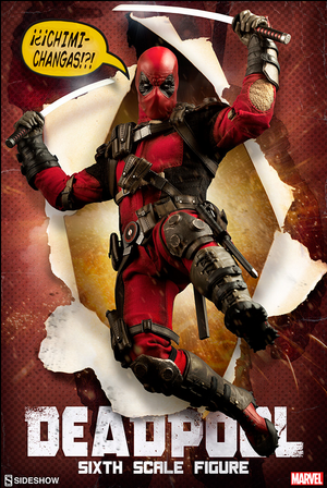 Marvel Sideshow Collectibles Deadpool 1:6 Scale Action Figure