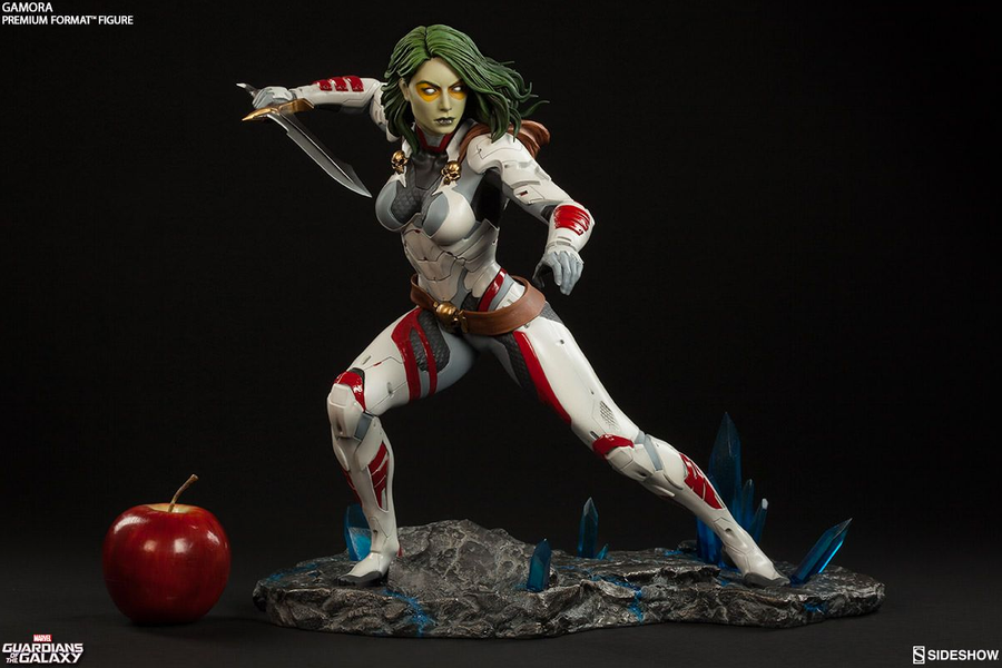 Marvel Sideshow Collectibles Guardians Of The Galaxy Gamora Premium Format 1:4 Scale Statue