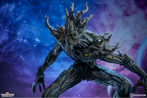 Marvel Sideshow Collectibles Guardians Of The Galaxy Groot Premium Format 1:4 Scale Statue