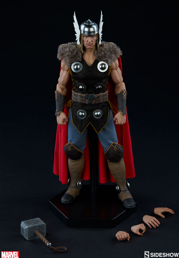Marvel Sideshow Collectibles Thor 1:6 Scale Action Figure