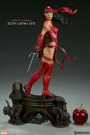 Marvel Sideshow Collectibles Elektra Premium Format 1:4 Scale Statue Pre-Order