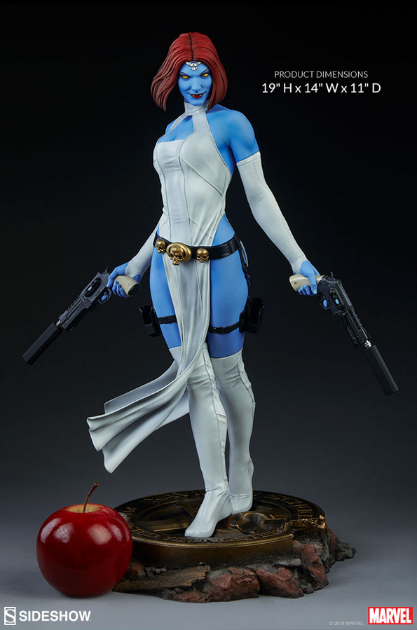 Marvel Sideshow Collectibles X-Men Mystique Premium Format 1:4 Scale Statue Pre-Order