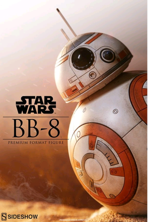 Star Wars Sideshow Collectibles Force Awakens BB-8 Premium Format 1:4 Scale Statue