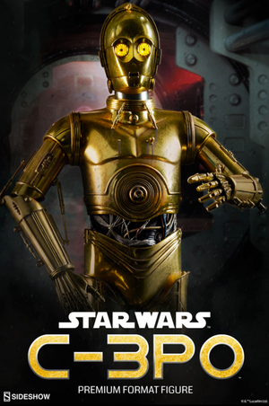 Star Wars Sideshow Collectibles A New Hope C-3PO Premium Format 1:4 Scale Statue