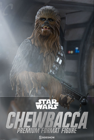 Star Wars Sideshow Collectibles A New Hope Chewbacca Premium Format 1:4 Statue