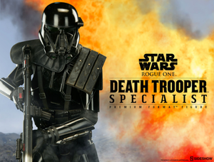 Star Wars Sideshow Collectibles Rogue One Death Trooper Specialist Premium Format 1:4 Scale Statue