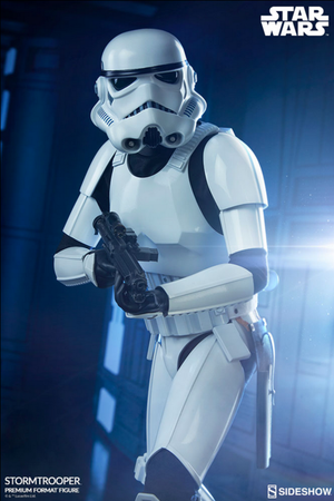Star Wars Sideshow Collectibles A New Hope Stormtrooper Premium Format 1:4 Scale Statue