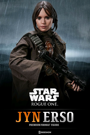 Star Wars Sideshow Collectibles Rogue One Jyn Erso Premium Format 1:4 Scale Statue