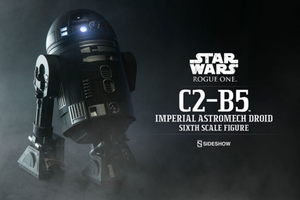 Star Wars Sideshow Collectibles Rogue One C2-B5 Imperial Astromech Droid 1:6 Scale Action Figure