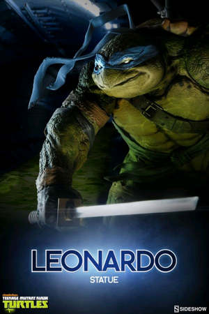 Teenage Mutant Ninja Turtles Sideshow Collectibles Leonardo Statue