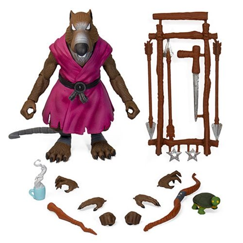 Teenage Mutant Ninja Turtles Super7 Ultimates Splinter Action Figure