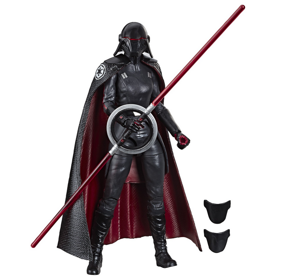 Star Wars Black Series Fallen Order Second Sister Inquisitor Action Figure