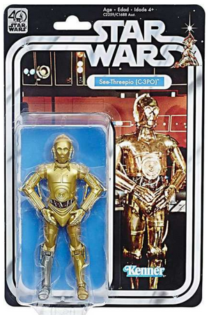 Star Wars Black Series 40th Anniversary C-3PO Action Figure
