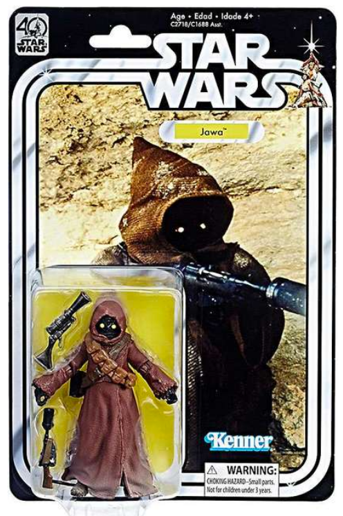 Star Wars Black Series 40th Anniversary Jawa Action Figure