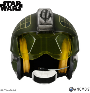 Star Wars Anovos Gold Leader Y-Wing Helmet Prop Replica