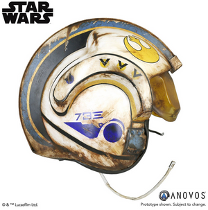 Star Wars Anovos Rey Salvaged X-Wing Helmet Prop Replica Pre-Order