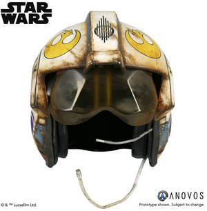 Star Wars Anovos Rey Salvaged X-Wing Helmet Prop Replica