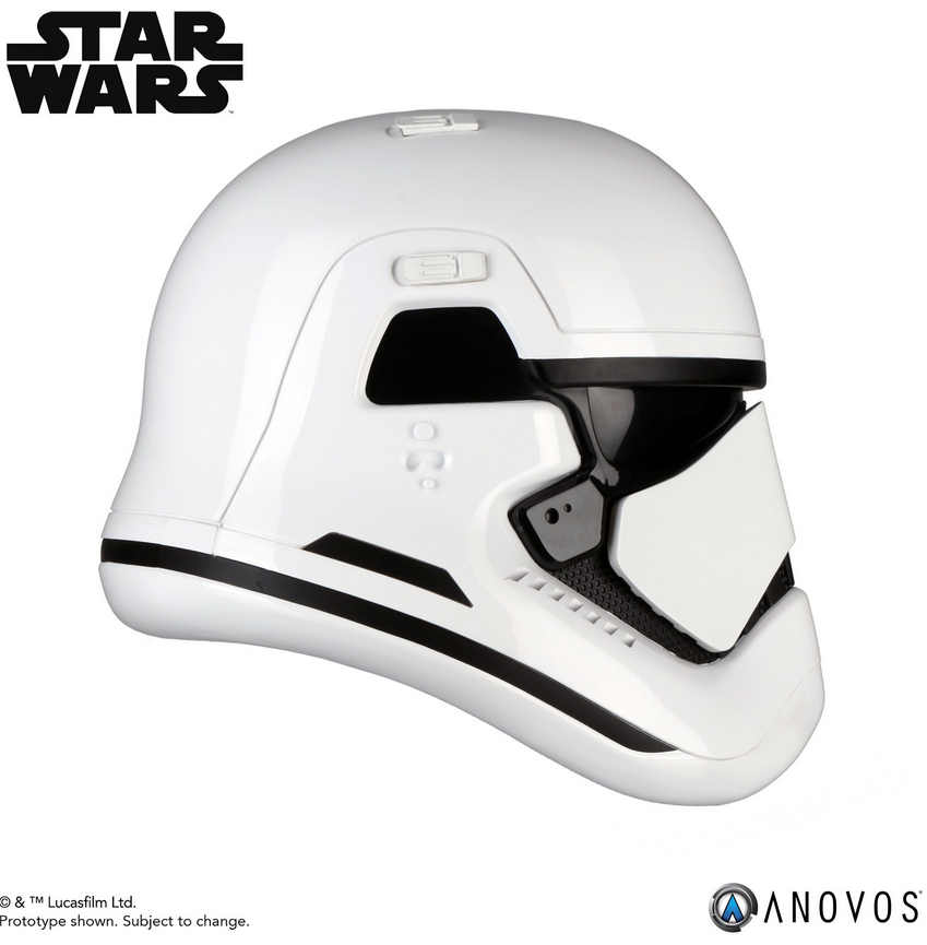 Star Wars Anovos The Last Jedi Stormtrooper Helmet Prop Replica