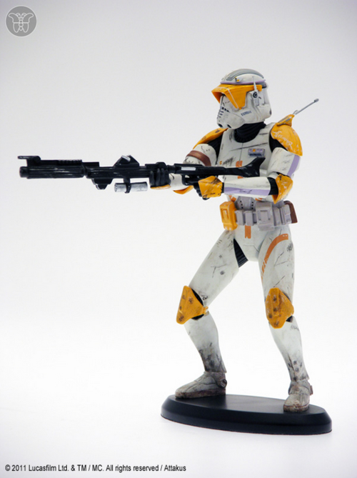 Star Wars Attakus Commander Cody Limited Cold Cast 1:10 Scale Statue