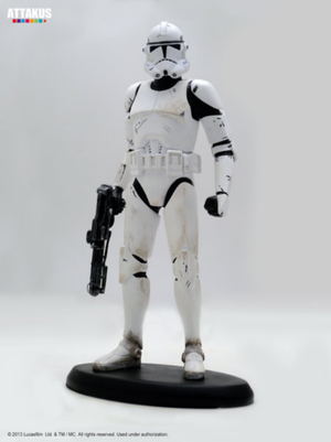 Star Wars Attakus Clone Trooper Limited Cold Cast 1:10 Scale Statue