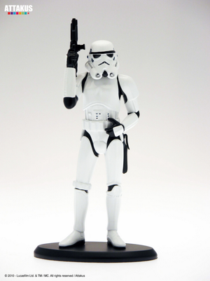 Star Wars Attakus Stormtrooper Limited Cold Cast 1:10 ScaleStatue