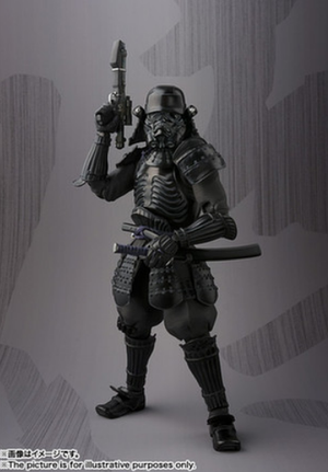 Star Wars Bandai Tamashii Nations Onmitsu Shadowtrooper Movie Realization Action Figure