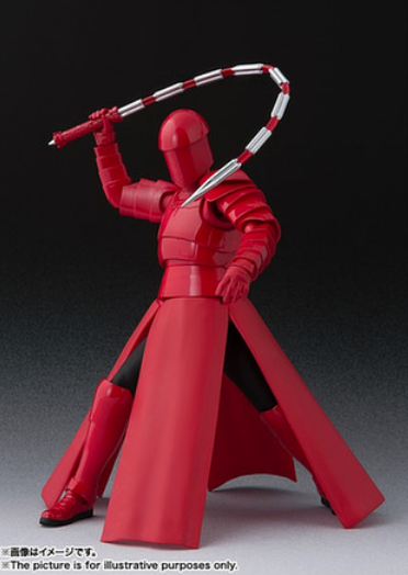 Star Wars Bandai SH Figuarts Last Jedi Praetorian Guard w/ Whip Staff Action Figure