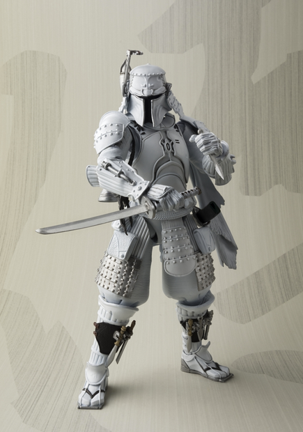 Star Wars Bandai Tamashii Nations Exclusive Ronin Boba Fett Prototype Movie Realization Action Figure