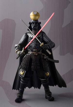 Star Wars Bandai Tamashii Nations Samurai Taisho Darth Vader Death Star Armor Movie Realization Action Figure