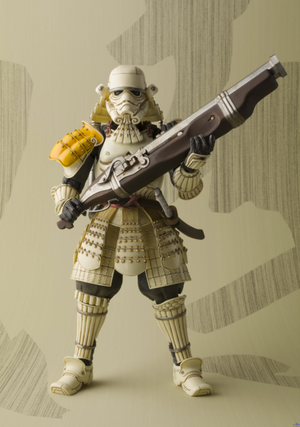 Star Wars Bandai Tamashii Nations Teppo Sandtrooper Movie Realization Action Figure