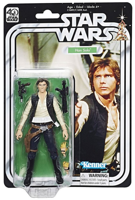 Star Wars Black Series 40th Anniversary Han Solo Action Figure