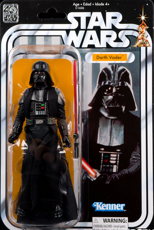 Star Wars Black Series 40th Anniversary Darth Vader Action Figure