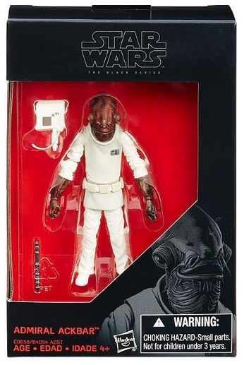 Star Wars Black Series Admiral Ackbar Action Figure