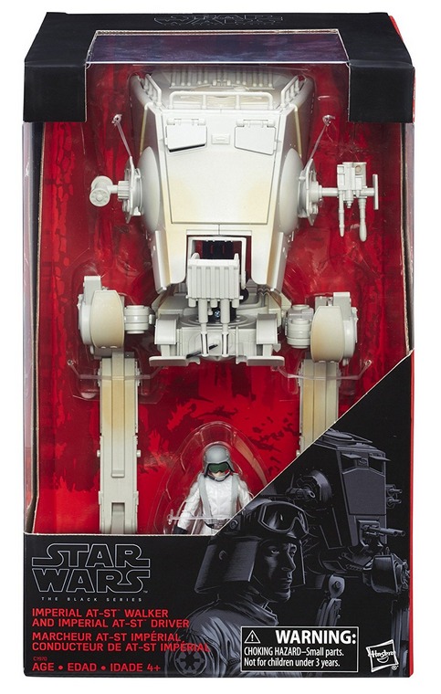 Star Wars Black Series Imperial AT-ST & AT-ST Driver Action Figure
