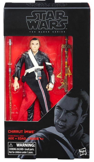 Star Wars Black Series Chirrut Imwe #36 Action Figure