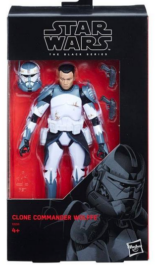 Star Wars Black Series Exclusive Commander Wolfe Action Figure