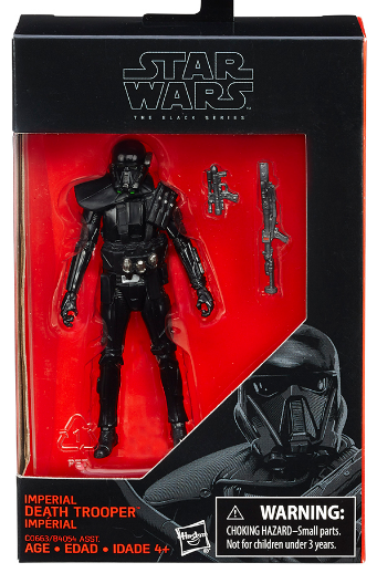 Star Wars Black Series Imperial Death Trooper Action Figure
